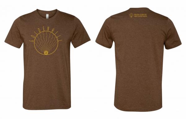 Golden Hill T-Shirt Coffee Brown