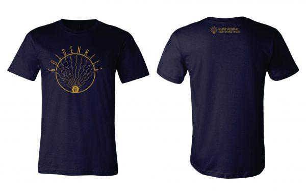 Golden Hill Navy T-Shirt