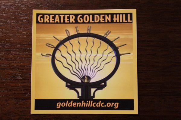 Golden Hill Sticker