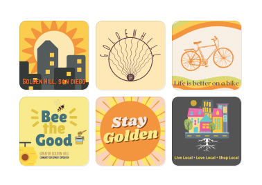 Stickers 6 pack